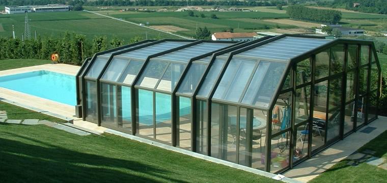 Vendita coperture telescopiche per piscine ristoranti - Del taglia piscine prezzi ...